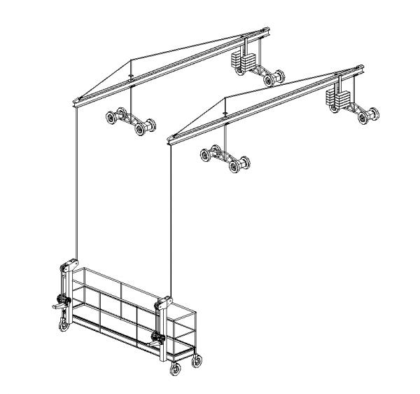 Swing Stage Suspended Scaffolding System Explained