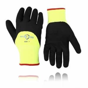 Golden Scute Freezer Winter Work Gloves