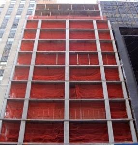RK Heavy Duty 4-ft x 150-ft Fire Retardant Vertical Safety Netting, High Visibility Orange