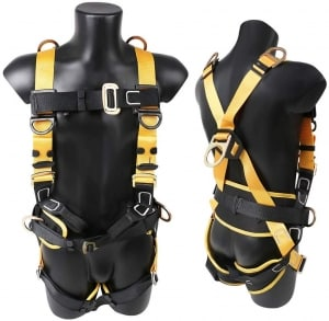 X XBEN Comfortable Roofing Fall Protection Safety Harness