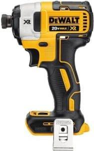 DEWALT 20V MAX XR Impact Driver Kit, Brushless, 3-Speed, Quarter-Inch, Tool Only (DCF887B)